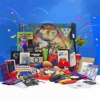 Trucos de magia caja de regalos de 30 tipos de atrezzo magia principiante educación trucos de magia, Tarjeta para los magos profesionales