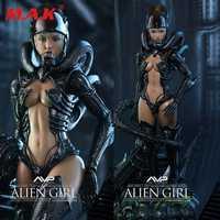 HAS002 Ángel caliente serie 1:6 Alien vs Predator chica sexy conjunto completo femenino acción figura accesorios muñeca modelo de juguete para colección