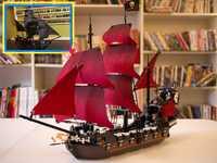 El perla negra y la Reina Anne venganza ajuste legoings barco de piratas del Caribe de bloques de construcción ladrillos 4184, 4195 regalo de niños conjunto