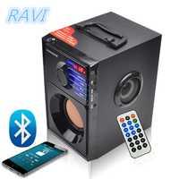 Altavoz inalámbrico Bluetooth Estéreo Subwoofer escritorio HIFI 3D Surround Player Radio FM altavoz portátil Mp3 Super Bass altavoz