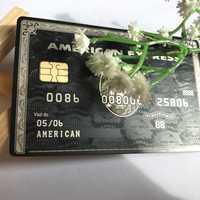American Express negro centurión tarjeta personalizar usted mismo gran regalo envío gratis