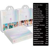 Kpop BTS Bangtan niños Ti mismo respuesta ejército caja con foto libro álbum conjunto HD cartel Bookmarke álbum CD la nave de la gota