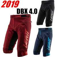 LEATT 2019 DBX 4.0 Ruby Top qualité vtt Shorts VTT court Motocross bleu marine vélo vélo court