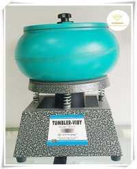 2014 capacidad 6 kg tamaño mediano vibratorio tumbler, máquina de pulido Escritorio, oro/plata pulido