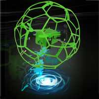 Calidad Superior mini drone helic Max Sky Walker 1340 2.4 GHz 4CH bola de la mosca RC quadcopter 3D Flip roller RC juguetes del helicóptero