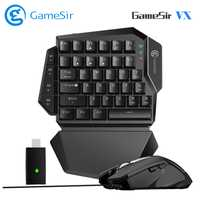 GameSir VX AimSwitch Wireless Gamepad teclado ratón Combo para PFS Juegos Uno Combo para PS4/PS3/Xbox One /interruptor para Playstation 4