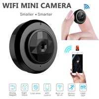 Nueva CCTV Wifi P2P IP 720 P HD Mini cámara inalámbrica Cámara de Acción bicicleta IR visión nocturna cámara Mini DV grabador de voz de vídeo de cámara DVR