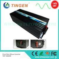 Energía 220 V 6000 w fuera de la red inversores solar y eólica sistema TEP-6000W onda sinusoidal pura