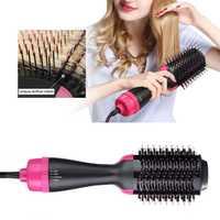 Nuevo anión secador de pelo del cepillo del peine negativo Lonic plancha de pelo cepillo eliminar encrespamiento rizador de pelo de