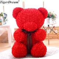 60 cm regalo del Día de San Valentín Rose oso Juguetes peluche lleno de amor romántico peluche osos olor dulce muñeca novia presente