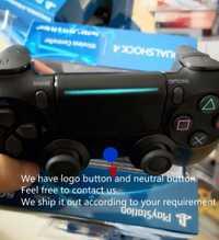 Neutra de seis ejes 2nd generación ps4 controlador ps4 juego de Bluetooth inalámbrico ps4 Bluetooth 4,0 nuevo con luces de vibración
