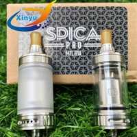 2 piezas Coppervape Spica Pro Estilo MTL RTA 3 ml de capacidad Rebuildable atomizador E cigarrillo vape del horizonte de estilo RTA MTL