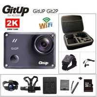 Cámara de acción deportiva Original GitUp Git2P Novatek 96660 remota Ultra HD, 2 K WiFi 1080 P 60fps impermeable go pro git2 P Cámara