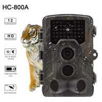 Cámara de caza HC800A Full HD 12MP 1080 p Video cámaras de caza de visión nocturna salvaje Trap Scouting infrarrojo IR Trail Trap