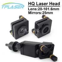 CO2 cabeza láser 20-101,6mm de la lente de 25mm espejos para Co2 máquina de grabado y corte por láser