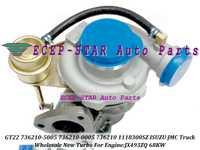 Refrigerado por aceite Original Garret-t Turbo GT22 736210, 736210-5005, 736210-0005 118300SZ para ISUZU JMC de tránsito camioneta JX493 Gonow JX493ZQ