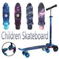 2018 nuevo patrón de estribor Skateboard Cruiser Skateboard monopatín deportes extremos a la deriva para niños