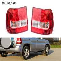 Lámpara de freno de montaje de luz trasera de coche mznaranja para Mitsubishi PAJERO MONTERO IO Pajero MINI 1998-2007