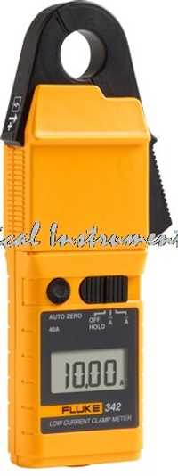 Rápido llegada FLUKE 342 F342 bajo pinza amperimétrica nuevo! AC/DC de baja corriente de medición