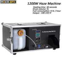 1200 W máquina de neblina 5L tanque líquido máquina de niebla Pro mañana máquina de neblina DMX 512 máquina de humo para la etapa Bar disco equipos de DJ