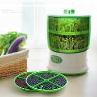 Procesador de alimentos automático familiar, máquina de brotes de soja verde, máquina de brotes de soja s, máquina de bricolaje de verduras más vendida