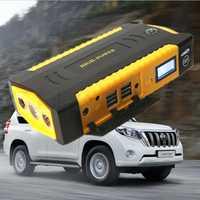 16000 mAh salto de arranque de alta potencia gasolina Diesel 12 V dispositivo de arranque 600A coche banco de potencia portátil de la batería de coche de refuerzo cargador de coche