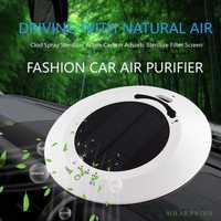 E-FOUR purificador del aire del coche máquina Anti polvo ambientador Perfume inteligente diseño de moda máquina de aire nuevo estilo del producto accesorio del coche