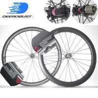 1394g más ligero 700C 38mm/50mm x 25mm asimétrica sin carretera cubierta de disco de ciclocross de bicicleta de carbono ruedas rueda de bicicleta conjunto
