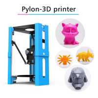 Mini impresora de escritorio DIY impresión 3D filamento de 1,75mm compatible con tarjeta Digital de seguridad USB impresora FDM de alta precisión