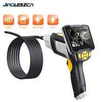 Endoscope industriel numérique 4.3 pouces LCD Endoscope Endoscope avec capteur CMOS Semi-rigide caméra d'inspection Endoscope portable