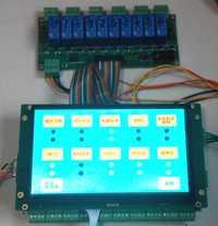 Placa de control Industrial con 7 pulgadas pantalla de color en lugar de PLC STM32 tablero del desarrollo Tablero de control de la máquina nueva máquina desarrollo