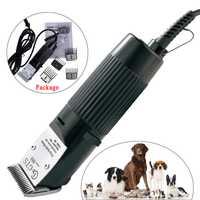 Recortador de pelo profesional de pelo de mascota perro gato pelo Trimmer Clipper recortador de pelo cepillo de corte de pelo de los animales