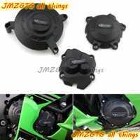 Motos Moteur couverture Protection cas pour cas GO Racing Pour KAWASAKI ZX10R 2011 2012 2013 2014 2015 2016 2017 2018 2019