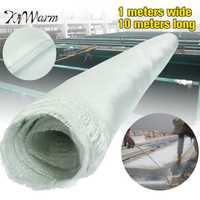 10x1 m blanco tela de fibra de vidrio tela tejida de fibra de vidrio tejido liso tela herramientas DIY suministros de fuego