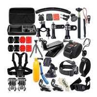Sansnail para Gopro accesorios para ir pro hero 7 6 5 4 3 kit de 3 selfie palo para Eken h8r/xiaomi yi