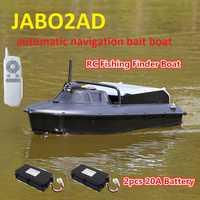 JABO 2AD 20A 10A RC cebo barco buscador de peces con GPS navegación automática con gancho de liberación y señuelo de anidamiento GPS Piloto automático buscador de peces RCBoat