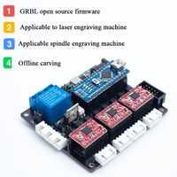 GRBL firmware de código abierto 3 controlador CNC bordo máquina de grabado láser PCB madera router controlador