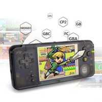 AOSANG Retro consola de juegos portátil de 3,0 pulgadas consola incorporado clásico de 3000 juegos para GBA/NEOGEO/CP1/ CP2 8bit juego de Consola