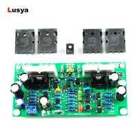 2 piezas L20 SE amplificador de Audio de A1943 C5200 canales duales 350 W amplificadores Amp de 4ohm kits de bricolaje/ tablero terminado