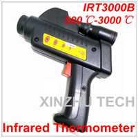Digital IRT3000B termómetro infrarrojo profesional probador de la Temperatura IR pistola láser rango de 500 ~ 3000 grados Celsius