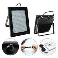 150 LED energía Solar Sensor de luz de inundación movimiento activado al aire libre jardín camino lámpara