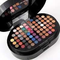 La srta. Rose 130 colores maquillaje Caja Profesional de sombra de ojos de lápiz labial de La Fundación ceja Kit de maquillaje de Maquiagem cosméticos