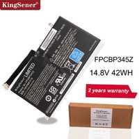 KingSener Nouveau FPCBP345Z batterie d'ordinateur portable pour Fujitsu LifeBook UH572 UH552 Ultrabook FMVNBP219 FPB0280 FPCBP345Z 14.8 V 2840 mAh