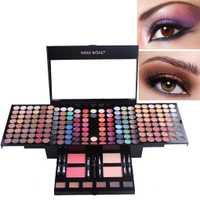 Portable 180 colores de sombra de ojos Set de maquillaje paleta Neutral Shimmer mate cosméticos sombra de ojos belleza