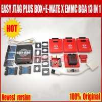 2019 el más nuevo Original fácil jtag plus caja + E-MATE X Emate caja EMMC BGA 13 en 1 Envío Gratis