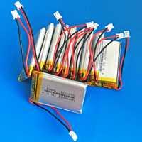 10 piezas 3,7 V 1200 mAh li-polímero batería de litio recargable de PH 2,0mm 2 P GPS DVD grabadora bluetooth e-book Cámara 603450