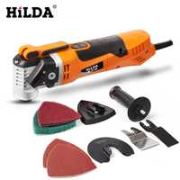 Herramienta de renovador HILDA, recortadora oscilante, herramienta de renovación del hogar, recortadora, herramientas de carpintería, sierra eléctrica multifunción