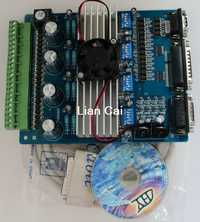 Controlador de Motor CNC TB6560 4 eje de Motor paso a paso, placa de controlador para la máquina de grabado de alta calidad