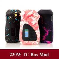 ORBITER 230W Control de temperatura cigarrillo electrónico molde electrónico Dual 18650 caja de batería MOD VS Voopo Drag 157 VAPE MOD