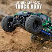 2,4G de cuatro ruedas de alta-Velocidad de control remoto coche de carreras RC crawler coche montañismo juguete impermeable juguetes de los niños